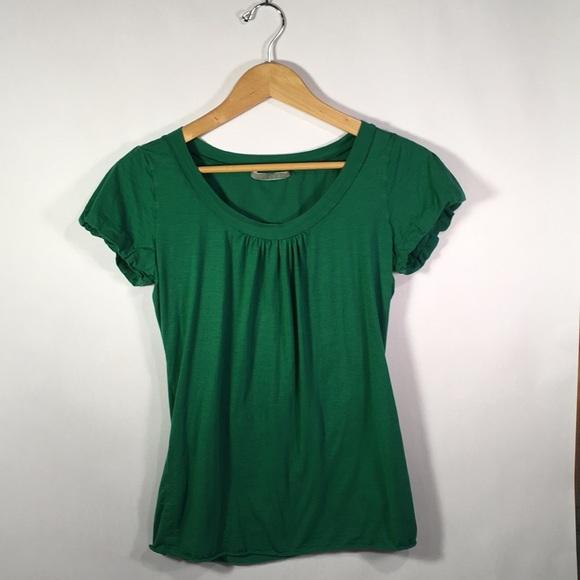 Velvet Tops - Velvet Vibrant Green Top